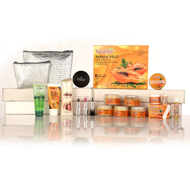 Nutriglow Papaya Fairness & Anti Ageing Facial Kit