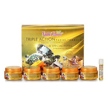 Nutriglow Triple Action Formula Facial Beauty Kit