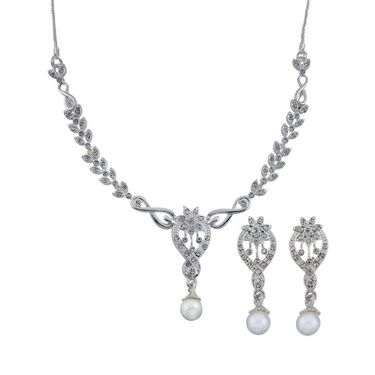 Oleva Combo of 5 Necklace Set + 5 Pearl Watches - ONTD 10