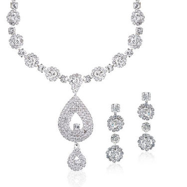 Oleva Combo Set of 6 Austrian Diamond Pendant Set - OHD 36