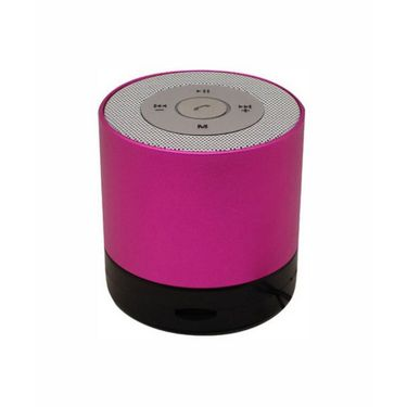 Vibrandz Smart Bluetooth with LED Wireless Speaker - Pink