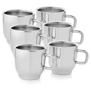 Aoito Stainless Steel Cup - Set of 6_OVL-6-AO