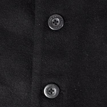 Branded Regular Fit Cotton Waist Coat_Os28 - Black