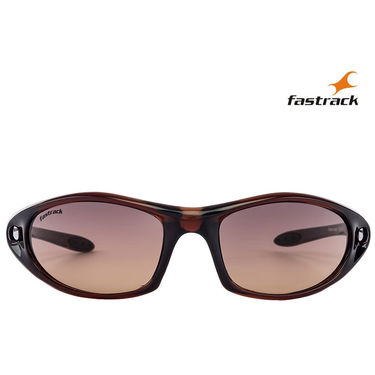 Fastrack Wayfarer Sunglasses For Unisex_P090br3 - Brown