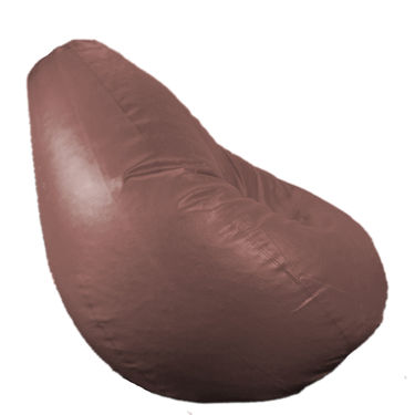 PSYGN Leatherette Standard Bean Bag Cover -  PBB200-BROWN-XXL