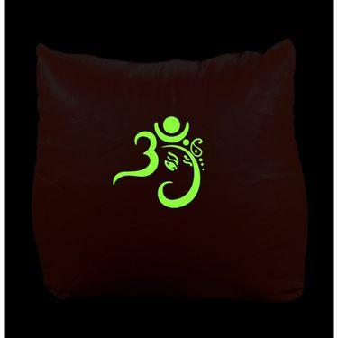 PSYGN Leatherette Chair Bean Bag Cover -  PBB301-RED-XXXL
