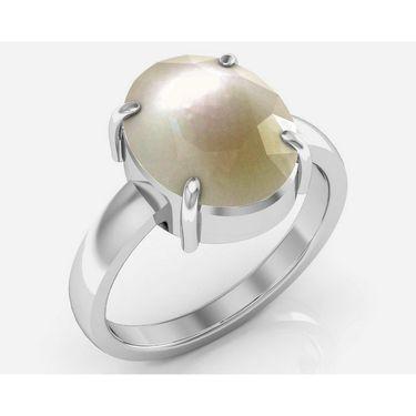 Kiara Jewellery Certified Moti 3.0 cts & 3.25 Ratti Pearl Ring_Pearlrw