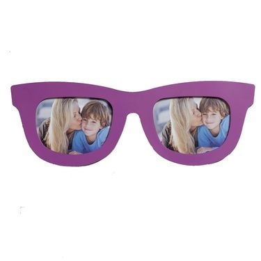 Pink Goggles Style Collage Photo Frame