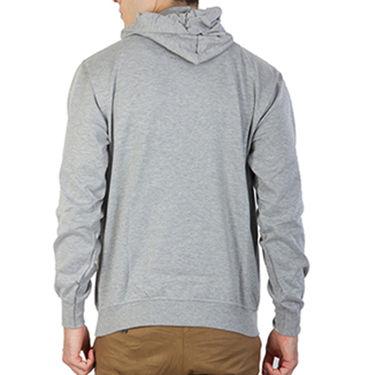 Printland Full Sleeves Cotton Hoodies_Pg1158 - Grey