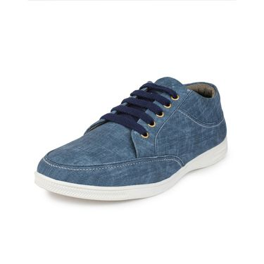 Pede Milan Canvas Blue Casual Shoes -pde69