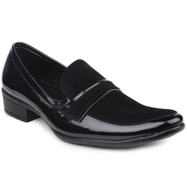 Pede Milan Patent Leather Black Formal Shoes -pde30