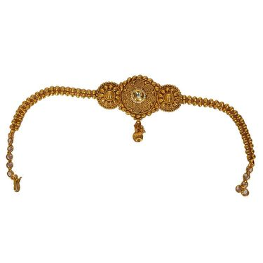Pourni Stylish Brass Bajuband_PRBB07 - Golden