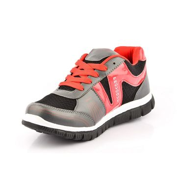 Provogue Synthetic Mesh Sports Shoes PV1062 -Dark Grey