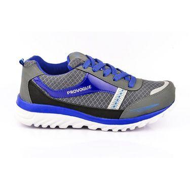 Provogue Synthetic Mesh Sports Shoes PV1065 -Medium Blue