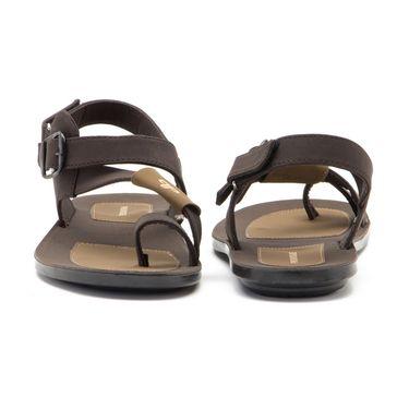 Provogue Mens Floater Sandals Pv1082-Brown