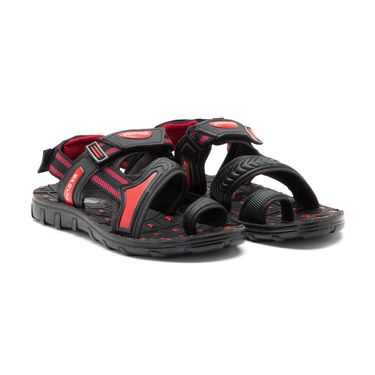 Provogue Mens Floater Sandals Pv1108-Red & Black