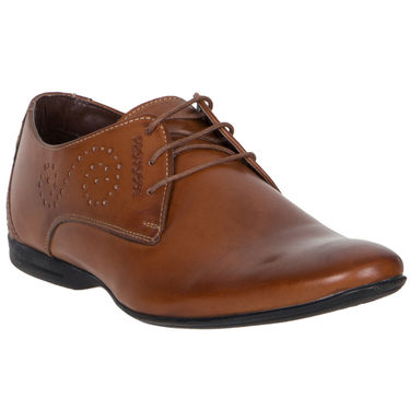 Provogue Tan Formal Shoes -yp12