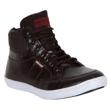 Provogue Brown Sneaker Shoes -yp28