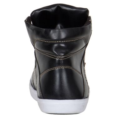 Provogue Black Sneakers Shoes -yp39