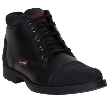 Provogue Black Casual Shoes -yp49