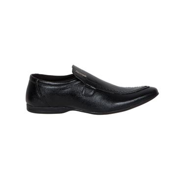 Provogue Black Formal Shoes -yp76