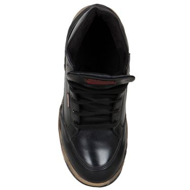 Provogue Black Casual Shoes -yp83