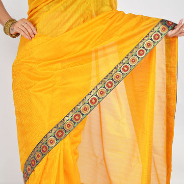 Pack of 3 Satin Stripe Sarees by Pakhi (3SS1)