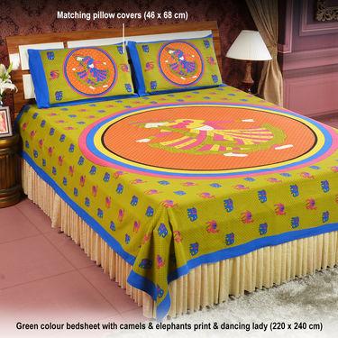 Pack of 4 Jaipuri Bedsheets (4DDBS2)