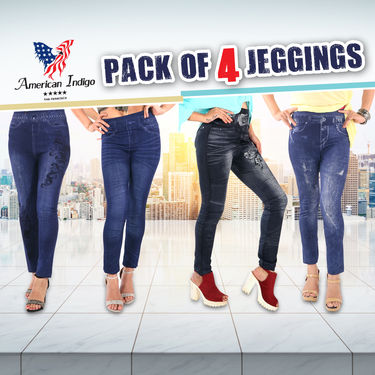 Pack of 4 Jeggings (PO4JEG1)