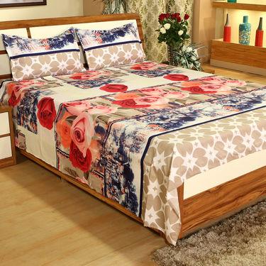 Prakriti Ke Rang - 5 Double Bedsheets (3D Print) (5BS22)