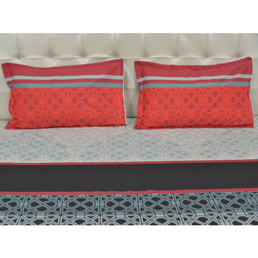 Aakarshak 5 Designer Bedsheet + 10 Takiya Cover (5bs40)
