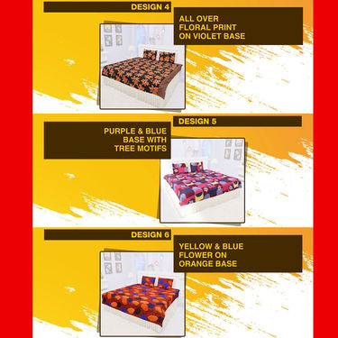 Pack of 8 Bed Sheet Set (8BS1)