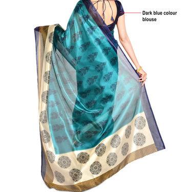 Pakhi Shimmering 7 Printed Art Silk Sarees (7A4)