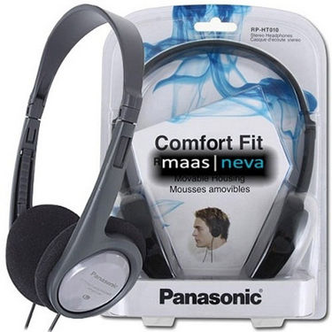 Panasonic RP-HT010GU-H Headphone w/Deep Bass for iPods