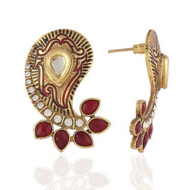 Panini Designer Dangle Earrings - Multicolour _ F-05
