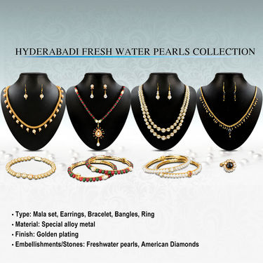 Hyderabadi Fresh Water Pearls Collection