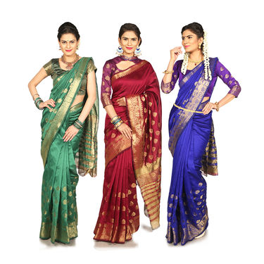 Pick Any 1 Kanjeevaram Silk Saree (KSS2)