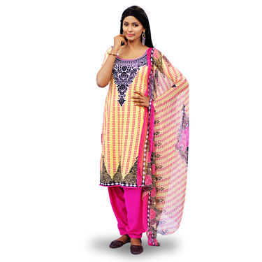 Pick Any 1 Printed Dress Material by Pakhi (TPDM1)