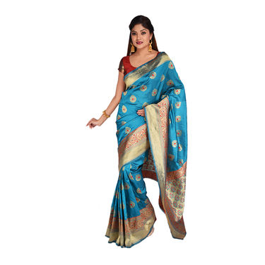 Pick Any One Assorted Kanjeevaram Silk Saree by Zuri (KSS10)