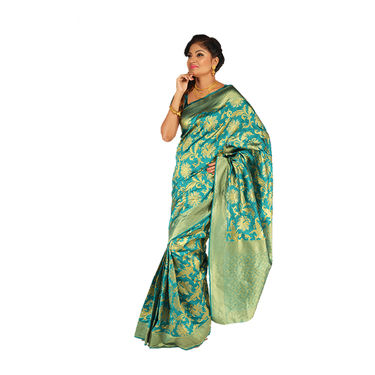 Pick Any One Assorted Kanjeevaram Silk Saree by Zuri (KSS11)