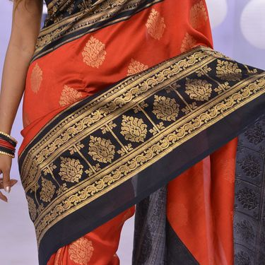 Pick Any One Foil Work Silk Saree by Pakhi (FPS1)