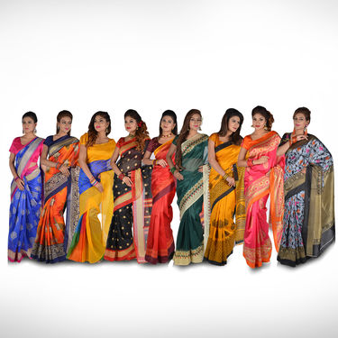 Pick Any One Kanjeevaram Inspired Art Silk Saree by Pakhi (TAS1)