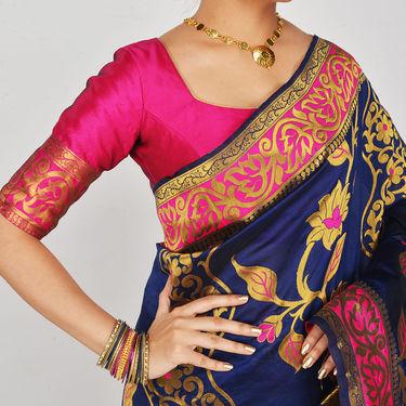 Pick Any One Kanjeevaram Silk Saree by Zuri (PES1)