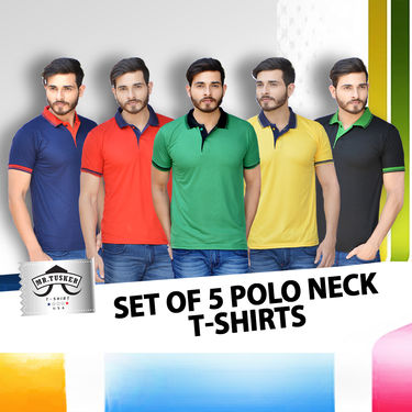 Pick Any Two Collar T-shirts for Men (TAP3)