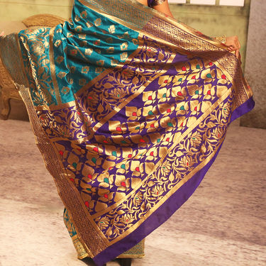 Pick Any One Banarasi Silk Saree by Zuri (CSS1)