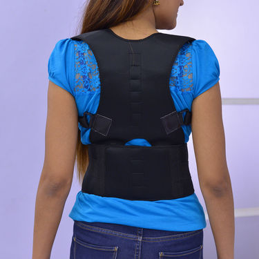 Back & Shoulder Support Belt with Magnetic Therapy