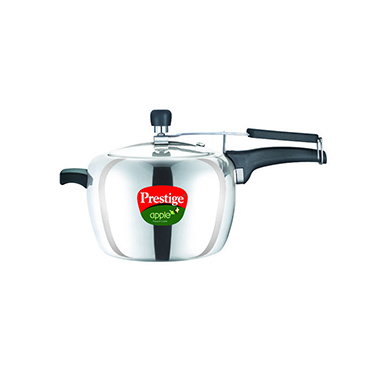 Prestige Apple Aluminium Pressure Cooker - 5 Ltr (Induction Based)