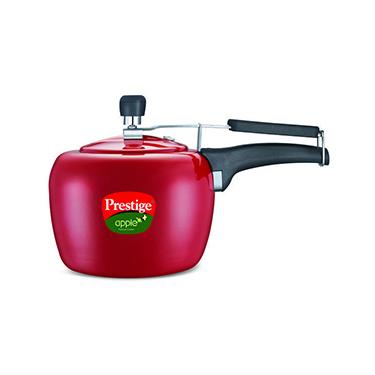 Prestige Apple Red Pressure Cooker - 2 Ltr (Induction Based)