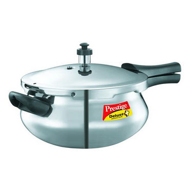 Prestige Deluxe Plus Aluminium Pressure Cooker Junior Handi (Induction Based)