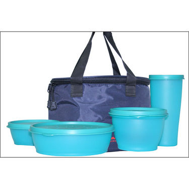 Princeware 5Pcs Lunch Box Set - Blue